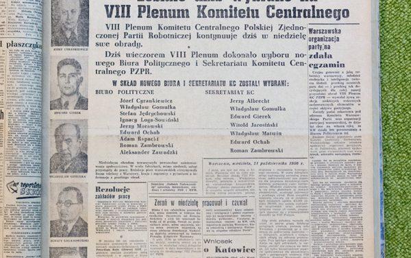 Historyczny sens Polskiego Października